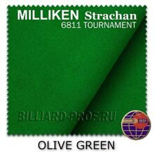 Бильярдное сукно Milliken Strachan Snooker 6811 Tournament, 30 oz...