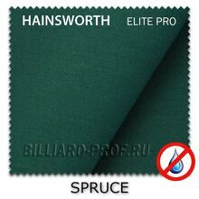 Бильярдное сукно Hainsworth Elite Pro Waterproof (198 см) spruce