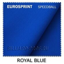 Бильярдное сукно Eurosprint Speedball (165 см) royal blue