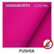 Бильярдное сукно Hainsworth Elite Pro Waterproof (198 см) fushia