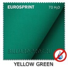 Бильярдное сукно Eurosprint 70 Waterproof (198 см) yellow green