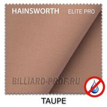 Бильярдное сукно Hainsworth Elite Pro Waterproof (198 см) taupe