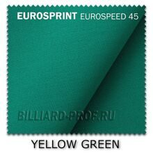 Бильярдное сукно Eurosprint Eurospeed 45 (165 см) yellow green