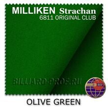 Бильярдное сукно Milliken Strachan Snooker 6811 Original Club, 30...