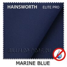 Бильярдное сукно Hainsworth Elite Pro Waterproof (198 см) marine...