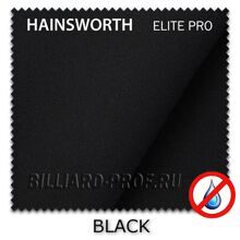 Бильярдное сукно Hainsworth Elite Pro Waterproof (198 см) black