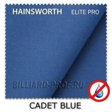 Бильярдное сукно Hainsworth Elite Pro Waterproof (198 см) cadet blue