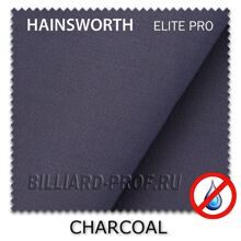 Бильярдное сукно Hainsworth Elite Pro Waterproof (198 см) charcoal