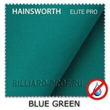 Бильярдное сукно Hainsworth Elite Pro Waterproof (198 см) blue green